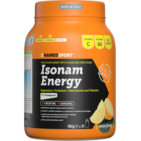 NAMEDSPORT Isonam Energy Drink 480g Zitrone